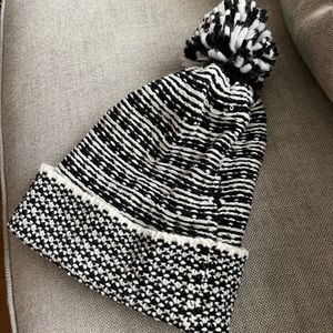 REBECCA MINKOFF Knit Pom Pom Hat